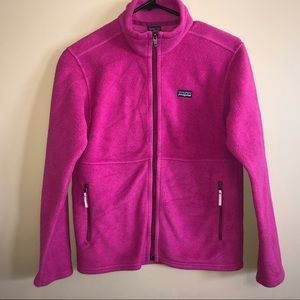 Patagonia Girls Synchilla Fleece Jacket Sz L EUC!